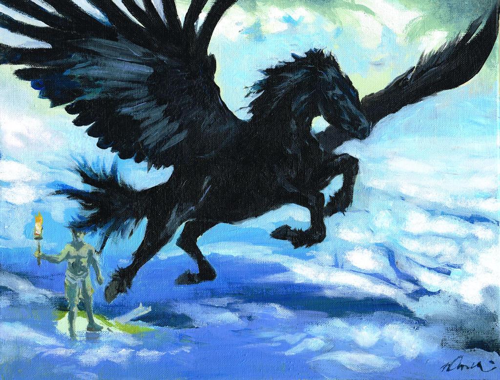 Pegasus by VincentPompetti