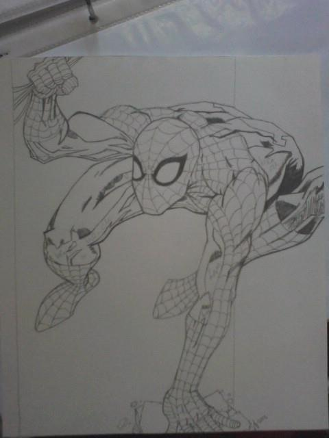 Your friendly neighborhood Spider-Man. by charnelle-volcom9