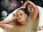 imaginary woman painting