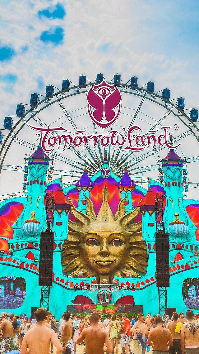 Tomorrowland Iphone5 Wallpaper By Theegigi On Deviantart