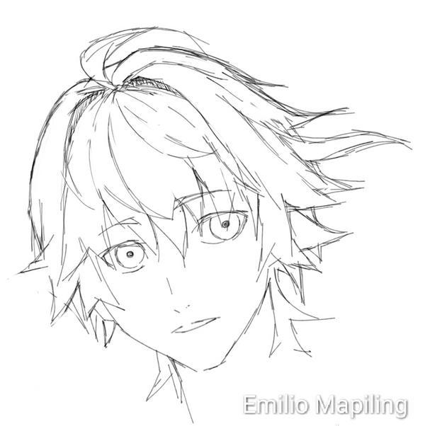 profile sketch by EmilioMapliing