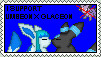 Umbreon and Glaceon Stamp by xerox345