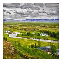 Iceland landscape by flemmens