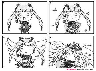 Sailor Moon's Power-Up by Chibi-Jennifer