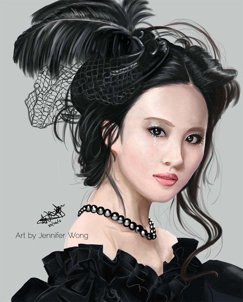 Liu Yi Fei Portrait