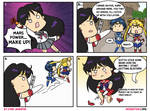 Pretty Soldier Sailor Mars comic