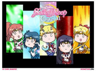 Sailor Moon Crystal Character Designs by Chibi-Jennifer