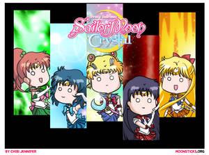 Sailor Moon Crystal Character Designs
