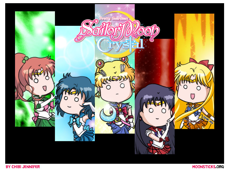 Sailor Moon Crystal Character Designs by Chibi-Jennifer