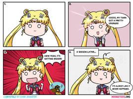 Sailor Moon Crystal Comic: Moon Tiara... Power Up! by Chibi-Jennifer