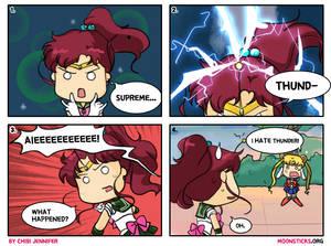 Sailor Jupiter Comes Thundering In (Comic)