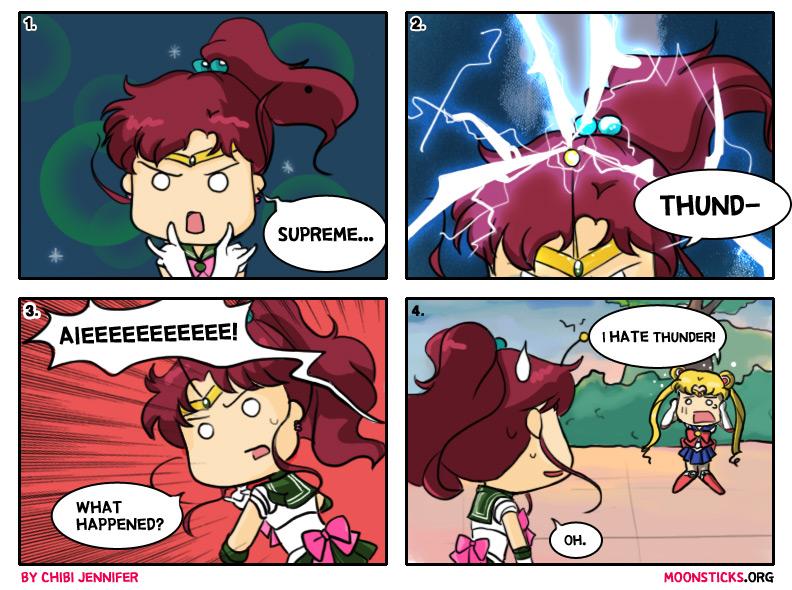 Sailor Jupiter Comes Thundering In (Comic) by Chibi-Jennifer