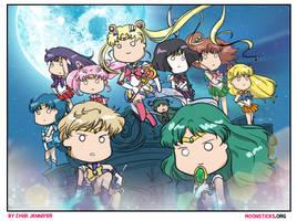 Sailor Moon Crystal Season 3 Death Busters Arc by Chibi-Jennifer