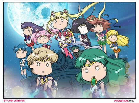 Sailor Moon Crystal Season 3 Death Busters Arc