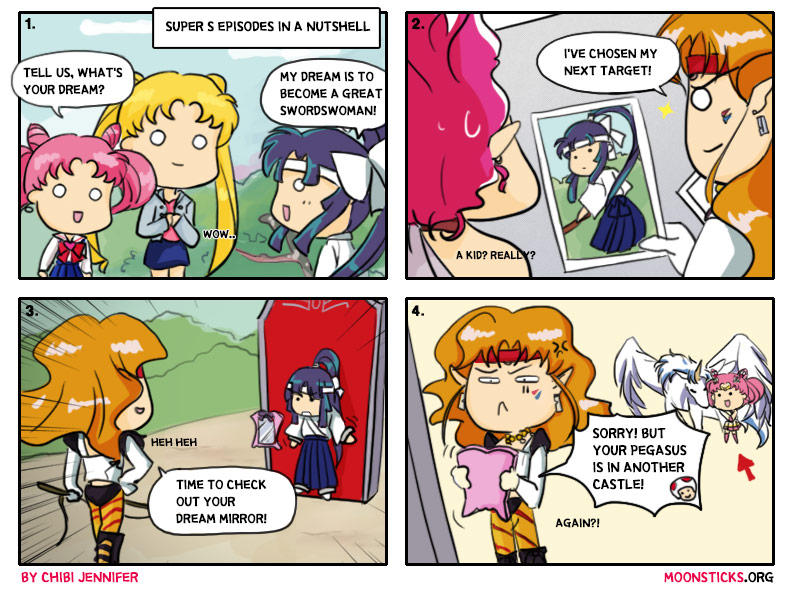Sailor Moon SuperS in a nutshell