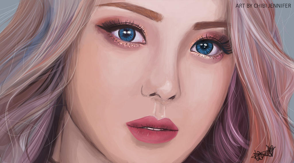 Pony Makeup Portrait by Chibi-Jennifer