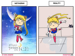Sailor Moon on Ice: Instagram vs Reality