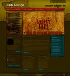 Joomla Template:: Grunge Style