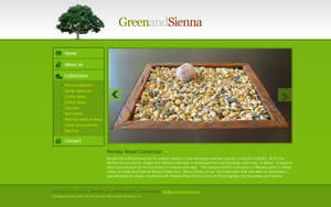 Simple Green Template by princepal