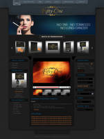 Joomla Black Template by princepal