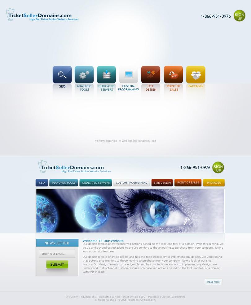 Web 2.0 Template by princepal