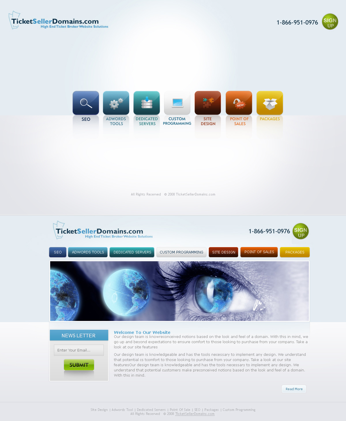Web 2.0 Template by princepal