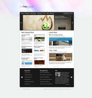 IamFreeLancer Web2.0 PortFolio by princepal