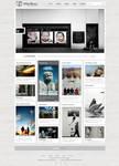 Wordpress Photo Blog Template