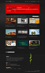 My Folio designISblack.com by princepal