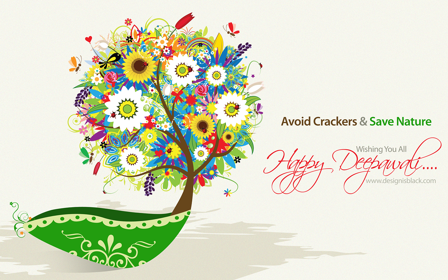 Happy Deepawali Wallpaper 2010 by princepal