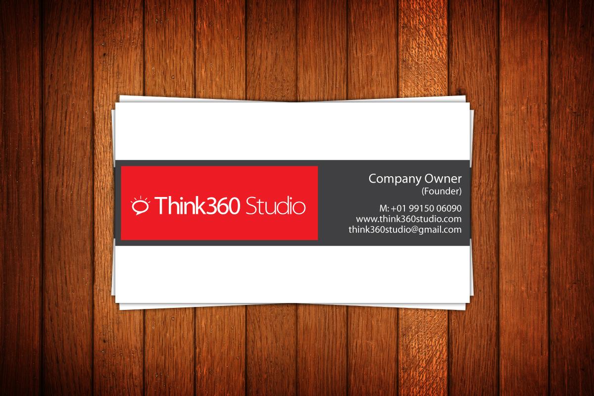 V Card Think360 Studio - Logo...