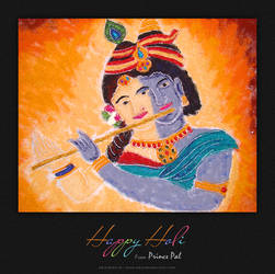 Happy Holi Greetings Card by princepal