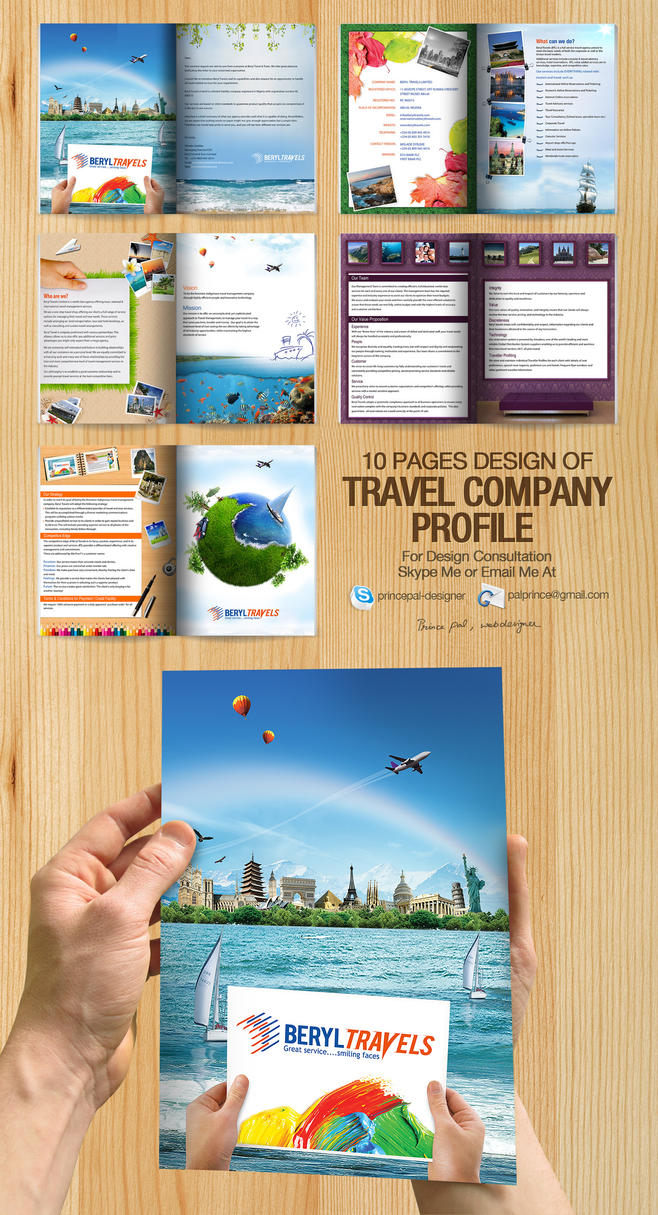 Travel Company Profile PDF by princepal