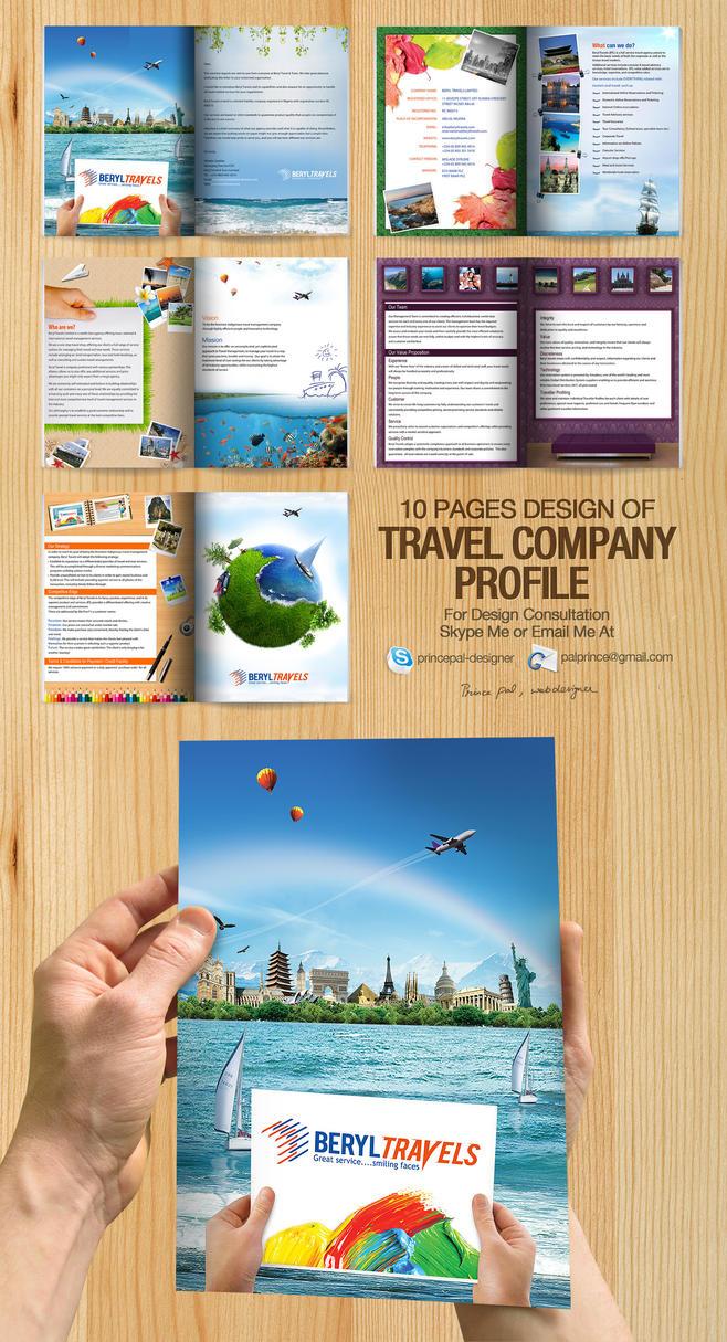 Travel Company Profile PDF by princepal
