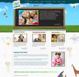 Kids School Wordpress Template by princepal
