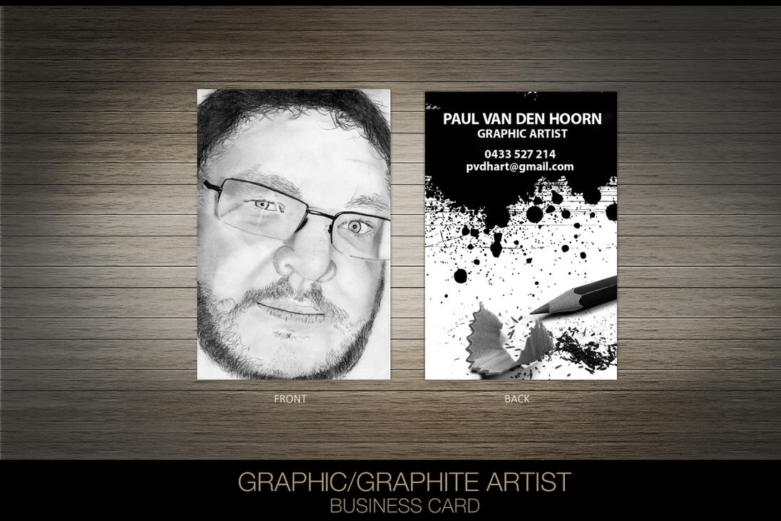 Graphic Artist Business Card by princepal on DeviantArt