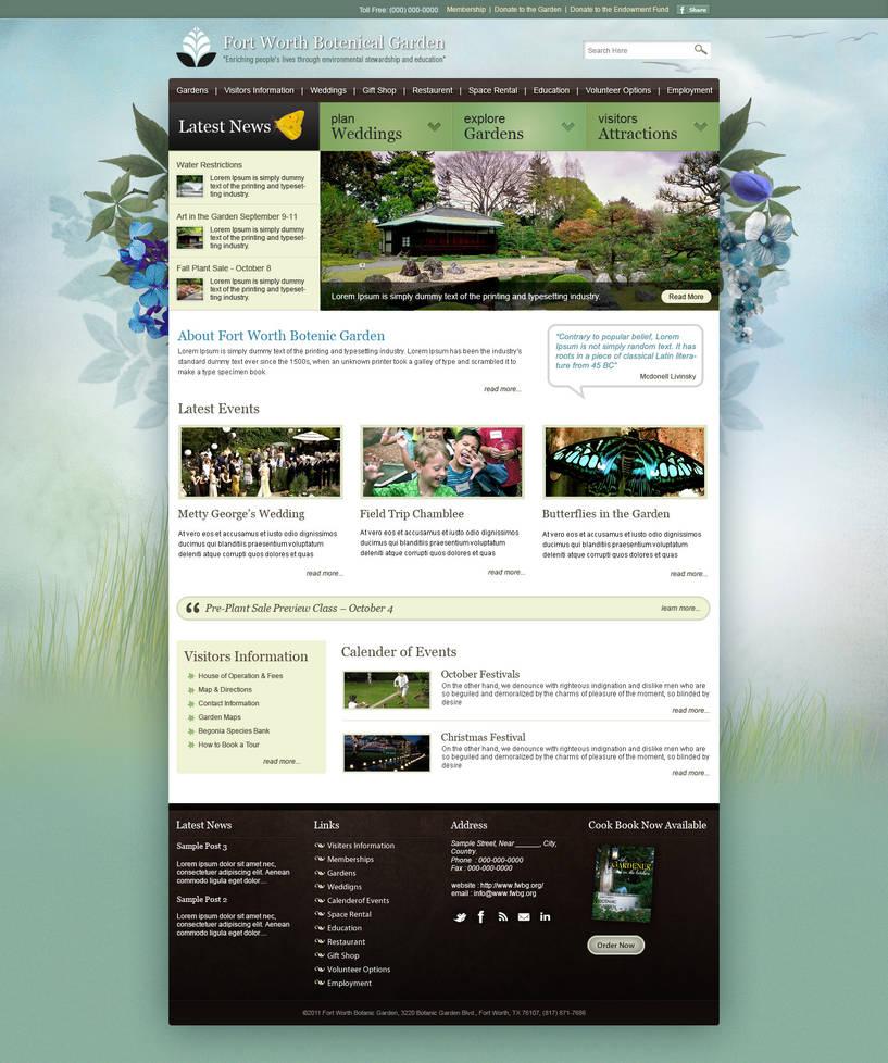 Garden Wordpress Template