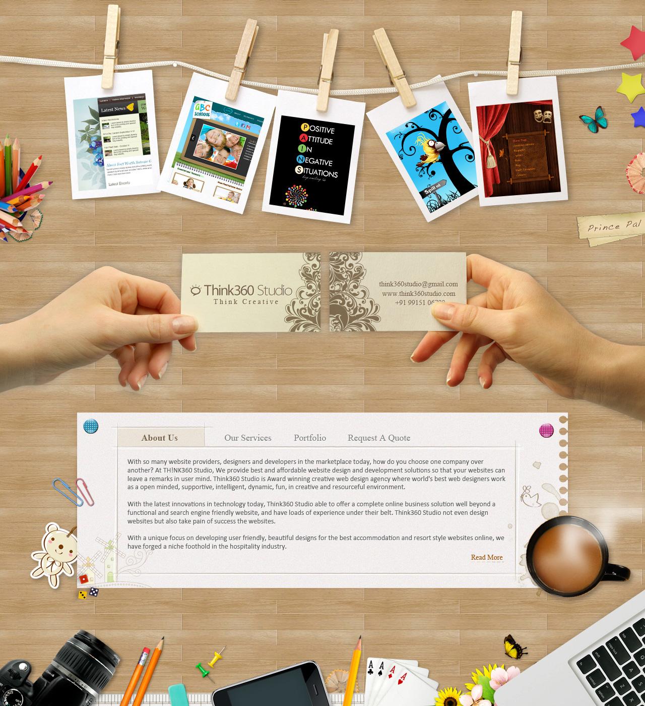 www.Think360Studio.com - A Web Design Agency India