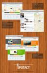 Google Map Based Community Concept - SPOTACT