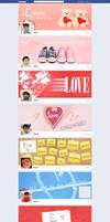 Valentine Week Celebration Via Facebook CoverPhoto