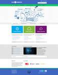 Flat, Clean, Minimal Web Interface Theme PSD