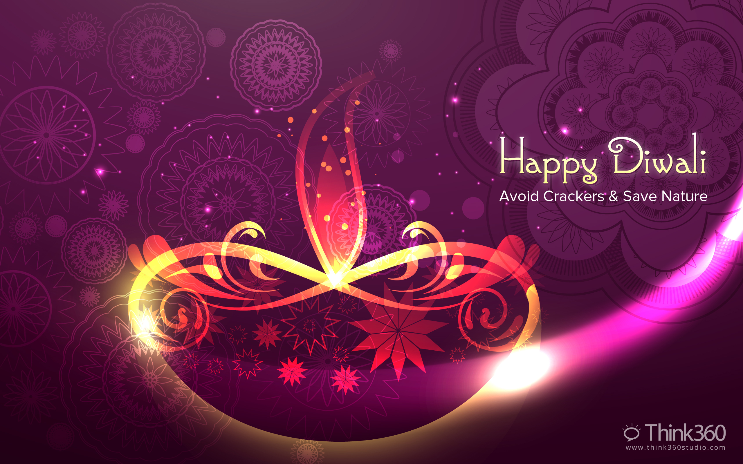 Happy diwali wallpaper pack 2013 by prince pal by princepal on happy diwali for widescreen 2560x1600 compatible with any smaller widescreen kristyandbryce Image collections