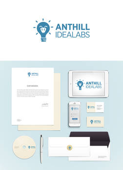 Anthill Logo Design and Branding by Prince Pal