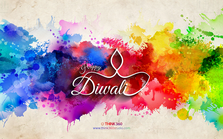Diwali Colorful Wallpaper 2014 By Prince Pal