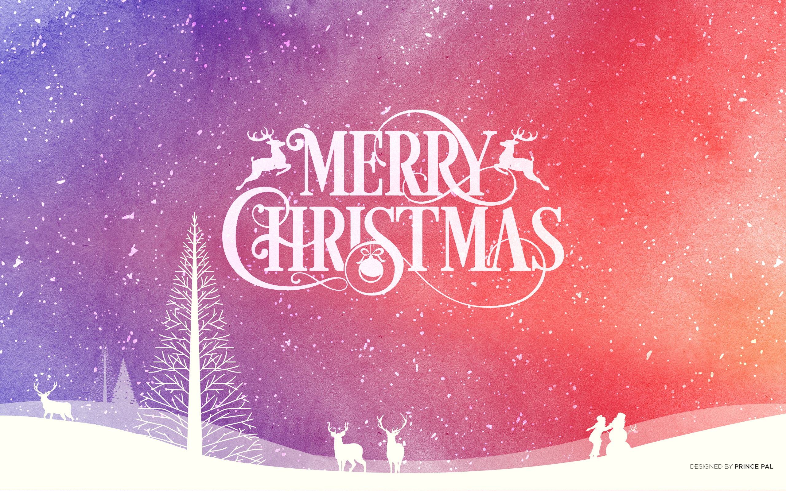 5 Stunning Brand New Christmas 2014 Wallpapers