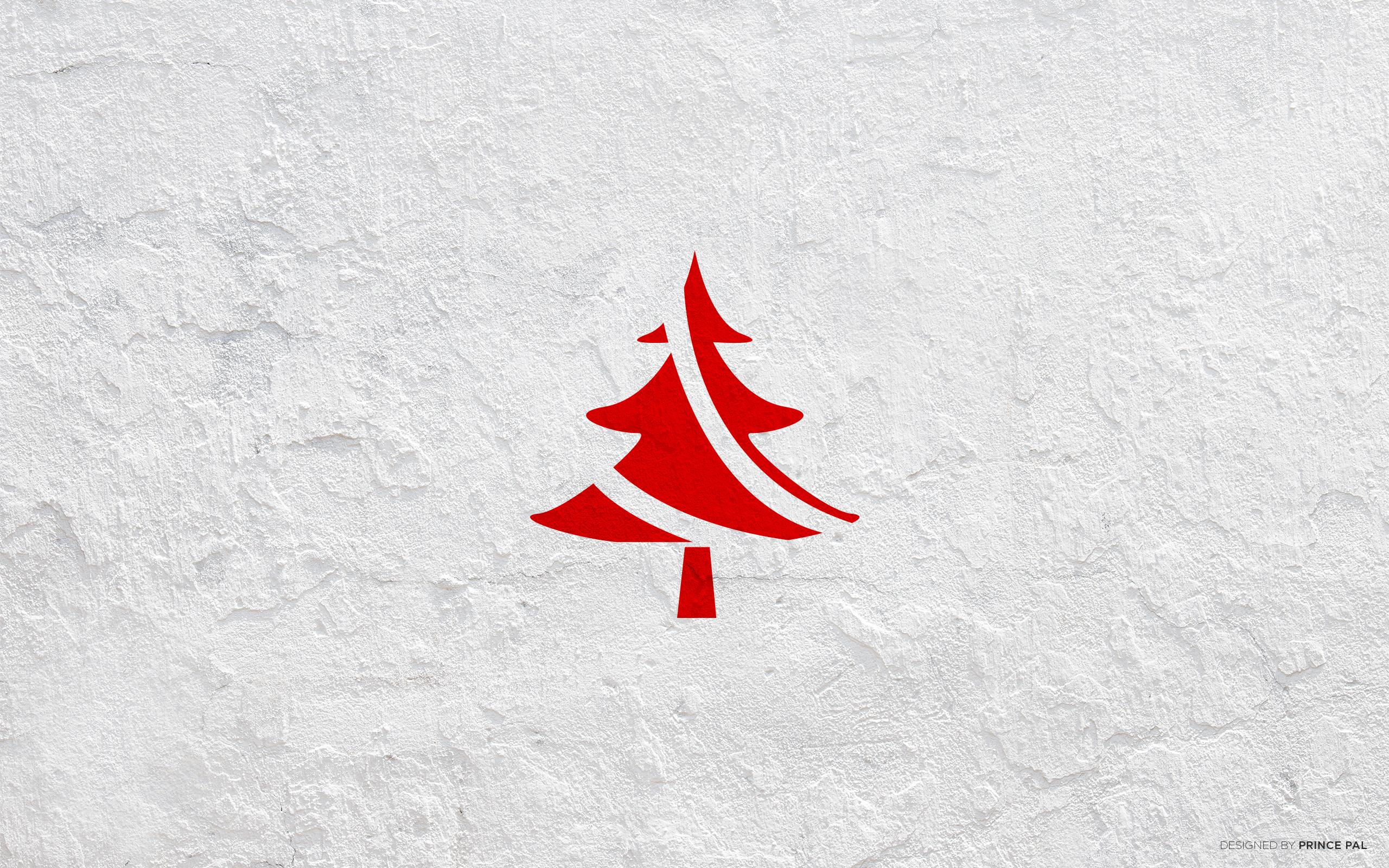 5 stunning brand new christmas 2014 wallpapers for Minimalist christmas