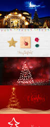 5 Christmas Wallpapers 2017 by princepal
