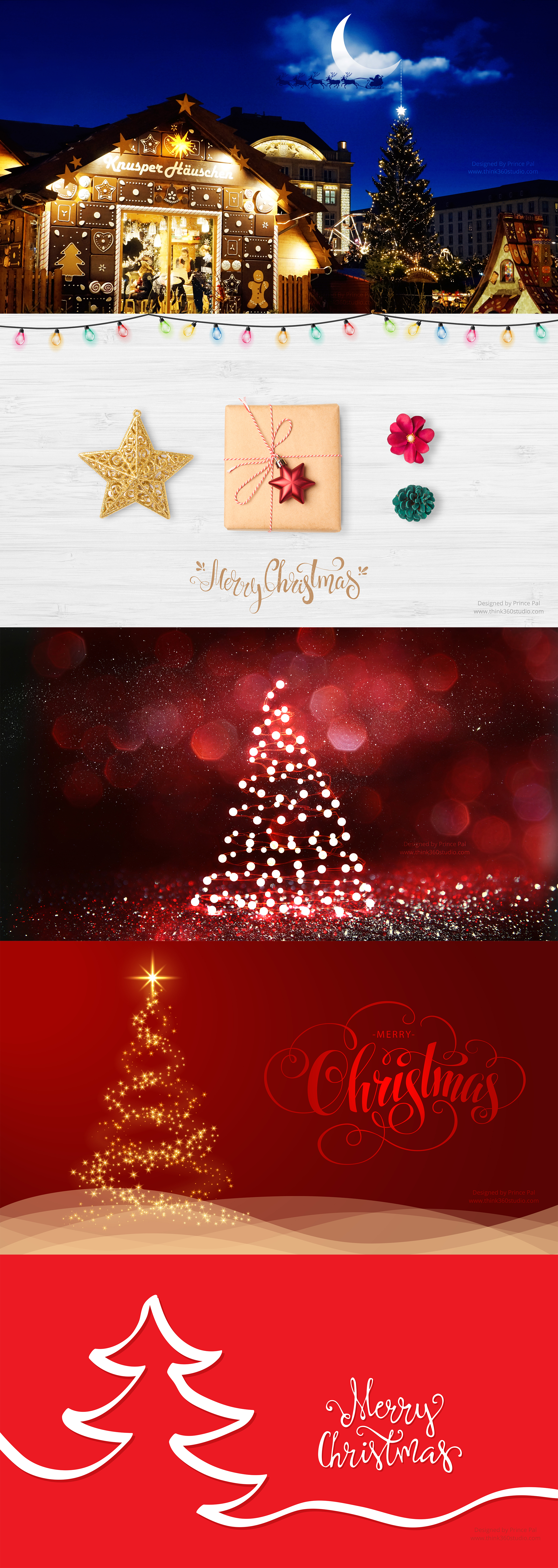 5 Christmas Wallpapers 2017