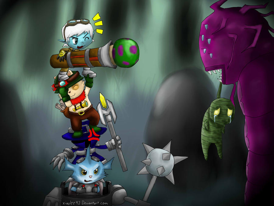 Yordle Legends by xiaolee92