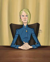 Claire Underwood by K-Riddle